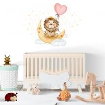 Vinyle et autocollants pour bébé le roi lion doux rêves