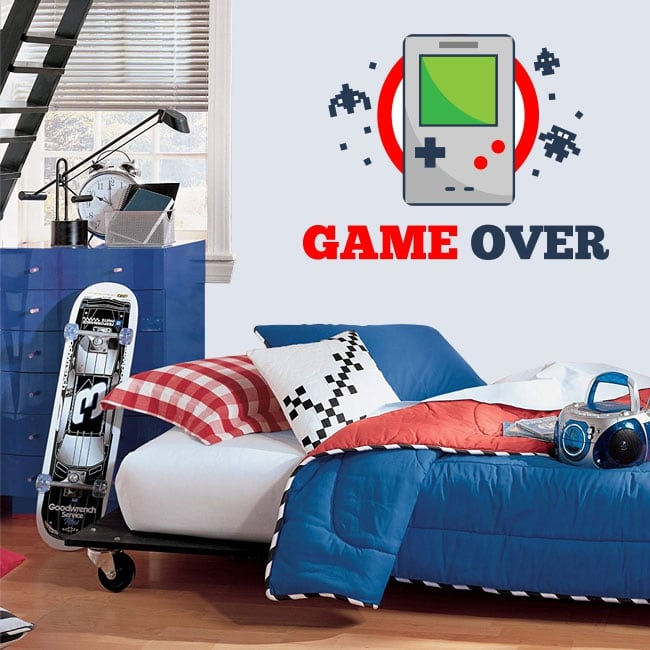Vinyle jeux video game over