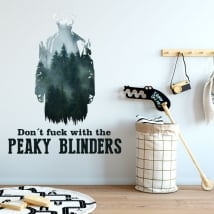 Stickers muraux peaky blinders