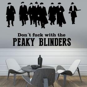 Vinyles et autocollants peaky blinders