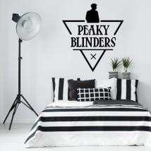 Autocollants en vinyle séries télévisées peaky blinders