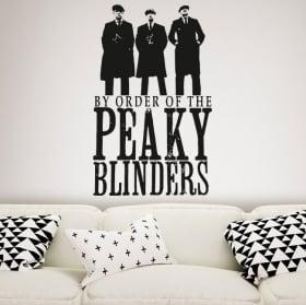 Vinyle décoratif série tv peaky blinders