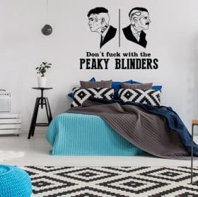 Vinyles adhésifs peaky blinders