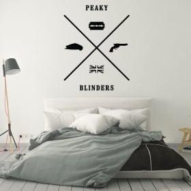 Vinyle décoratif peaky blinders