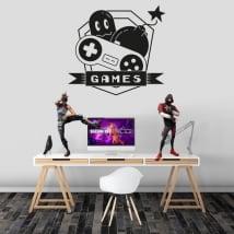 Vinyle décoratif et autocollants games