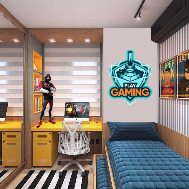 Vinyle décoratif et autocollants play gaming