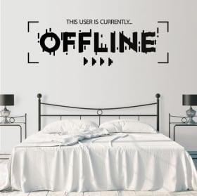 Vinyle décoratif et autocollants offline