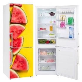 Vinyles et autocollants pour décorer les réfrigérateurs pastèques
