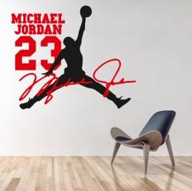 Vinyles décoratifs michael jordan nba