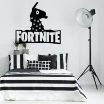 Vinyles décoratifs llama de fortnite