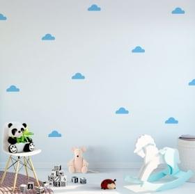 Vinyles et autocollants pour enfants kit cloud