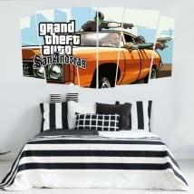 Vinyles jeu vidéo grand theft auto san andreas