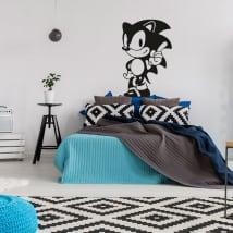 Vinyles décoratifs et autocollants jeux vidéo soniques