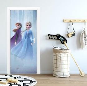 Vinyle pour portes et penderies disney frozen 2