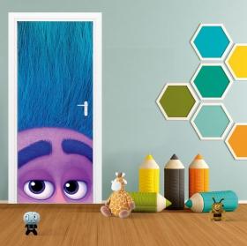 Vinyles décoratifs portes et armoires trolls