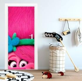 Vinyles portes et armoires trolls