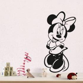 Vinyle et autocollants disney minnie mouse
