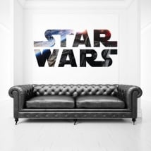 Vinyle décoratif et autocollants logo star wars