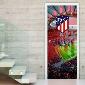 Vinyles pour portes wanda metropolitano atletico madrid stadium