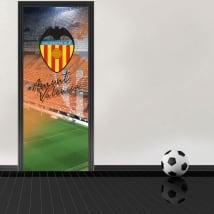 Vinyle pour portes mestalla stadium valencia football club