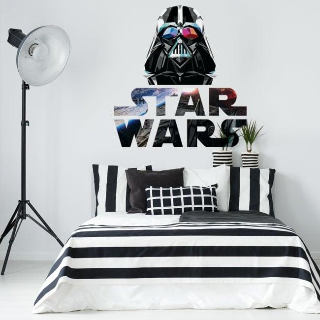 Vinyles décoratifs darth vader star wars