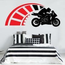 Autocollants et vinyles décoratifs motogp