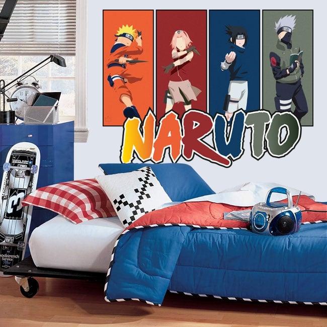 Vinyles décoratifs jeunesse naruto
