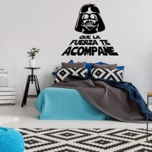 Vinyles et autocollants darth vader star wars