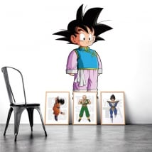 Autocollants vinyles décoratifs dragon ball