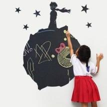 Vinyles pour enfants tableau noir le petit prince