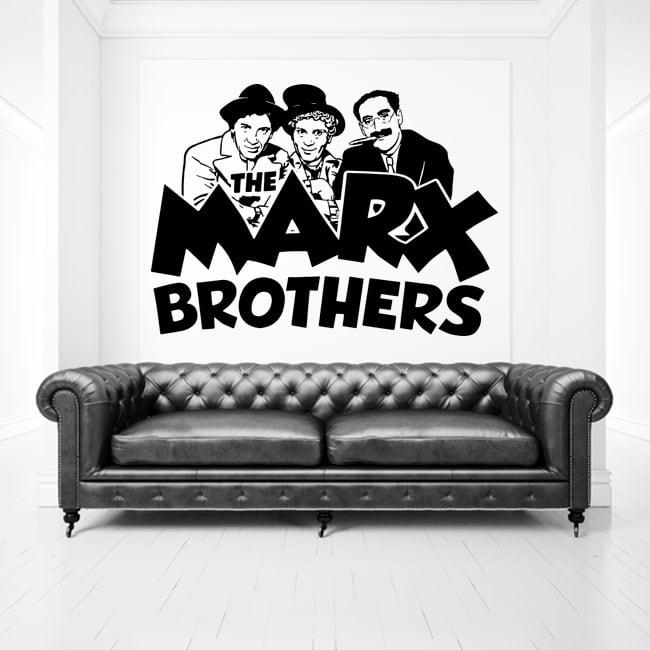 Vinyles et autocollants the marx brothers