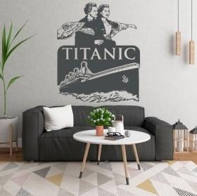 Vinyles décoratifs et autocollants du titanic