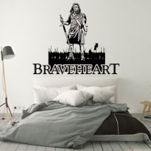 Vinyles décoratifs et autocollants braveheart