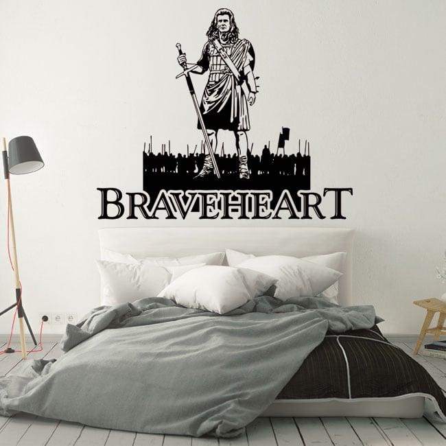Vinyles décoratifs et autocollants braveheart