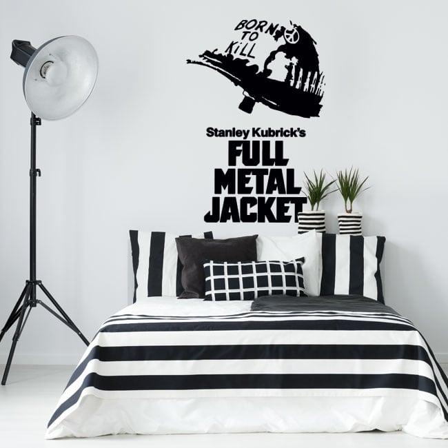 Vinyles décoratifs et autocollants full metal jacket