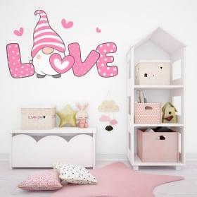 Vinyles romantiques nomo love
