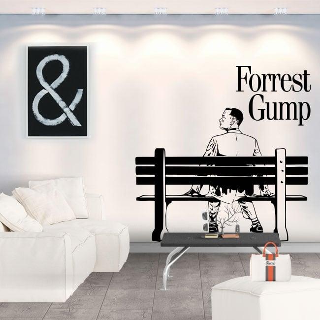 Vinyles décoratifs et autocollants forrest gump