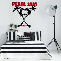 Vinyle et autocollants pearl jam alive