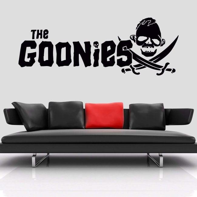 Vinyles et autocollants the goonies