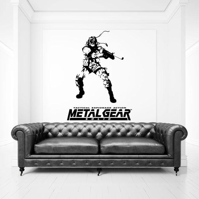 Vinyles et autocollants jeu vidéo metal gear
