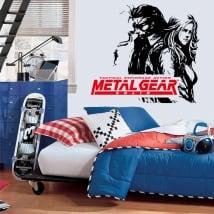 Vinyles jeu vidéo metal gear