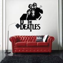 Vinyles et autocollants the beatles
