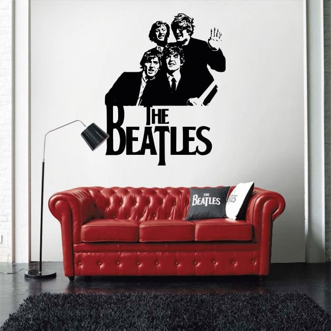 Vinyles et autocollants the beatles