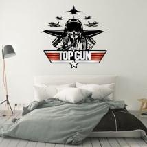 Vinyles décoratifs et autocollants top gun