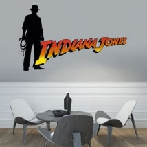 Vinyle et autocollants indiana jones