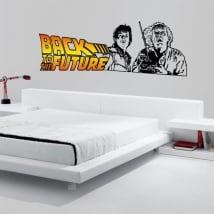 Vinyles décoratifs retour vers le futur