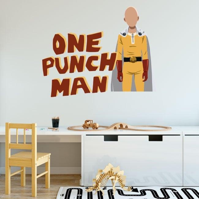Vinyles décoratifs et autocollants one punch man