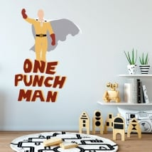 Vinyles et autocollants one punch man