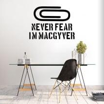 Vinyles décoratifs macgyver