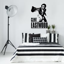 Vinyles décoratifs clint eastwood dirty harry